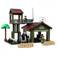 Military Army Base - Lego Compatible