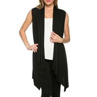 Ruffled Sleeveless Vest