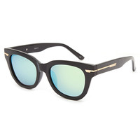 Blue Crown High Bidder Classic Sunglasses Black One Size For Women 26404110001