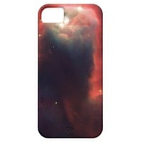 Cone nebula in space - Jesus iPhone 5 Case