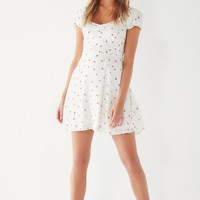 UO Finnigan Floral Mini Dress | Urban Outfitters
