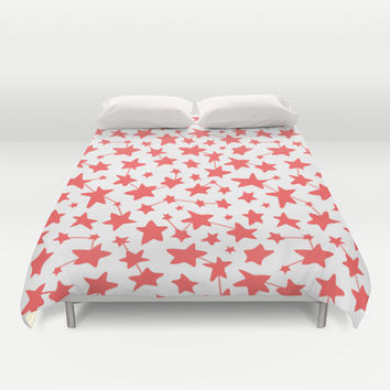 Connect the Stars Duvet Cover by Ariel Lark