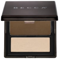 Sephora: BECCA : Lowlight/Highlight Perfecting Palette Pressed : contour-palette-brush
