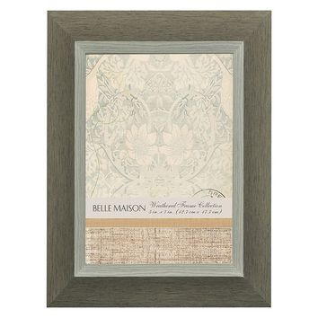 Belle Maison Distressed Two Tone 5'' x 7'' Frame