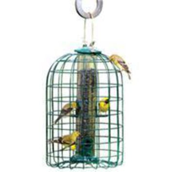 Audubon/woodlink - Squirrel Resistant Caged Tube Feeder