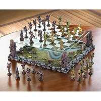 Whimsical Fairy Chess Set