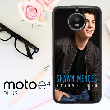 Shawn Mendes Handwritten X3392 Motorola Moto E4 Plus Case