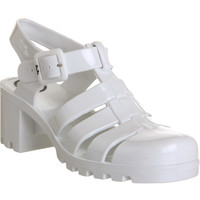 JuJu Babe Hi Juju Jelly White - Sandals