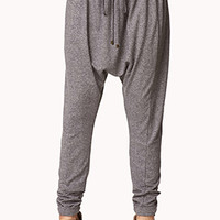 Heathered Harem Pants