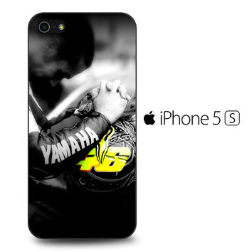 Valentino Rossi 46 Helm iPhone 5[S] Case