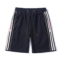 GUCCI 2018 summer new men and women models loose tide brand shorts F-CP-ZDL-YXC black