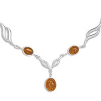 19in Baltic Amber Necklace