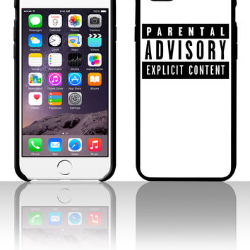 Parental Advisory 5 5s 6 6plus phone cases
