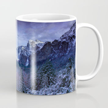 Yosemite in Winter Mug by ARTPICS