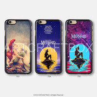 The little mermaid Disney iPhone 6 case iPhone 6 Plus 5S 5C case 793