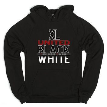 XL UNITED CONNECTED COLORS HOODIE