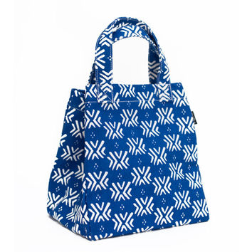 Boho Blue Lunch Tote