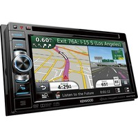 """Kenwood - 6.1"""" - CD/DVD - Built-In Bluetooth - Apple® iPod®-Ready In-Dash Receiver"""