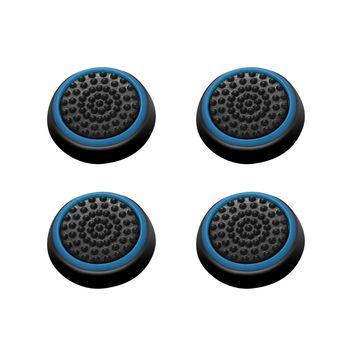 PomeMall Silicone Thumb Grips Caps Stick Protect Cover for PS4, Xbox One, PS3, Xbox 360 Controllers