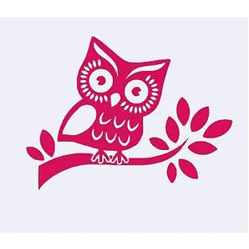 Best Owl Car Decal Products On Wanelo