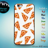 Pizza Cheese Pepperoni Slice Pattern I Love Pizza Multiple Color Choices Rubber Case for iPhone 6s 6 Plus iPhone 6s 6 iPhone 5s 5 iPhone 5c