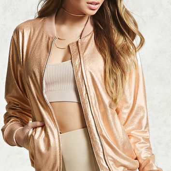 Contemporary Bomber Jacket