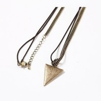 Necklace - Triangle - Jewelry - Women - Modekungen | Clothing, Shoes and Accessories