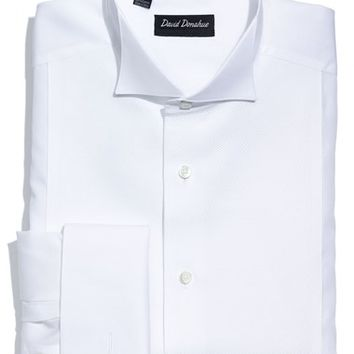 Best french cuff shirts products on wanelo for David donahue french cuff shirts