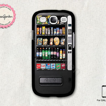 Vending Machine Samsung Galaxy S3 Case, Samsung Galaxy SIII Case, Samsung Galaxy S3 Cover, Hard Protective Case