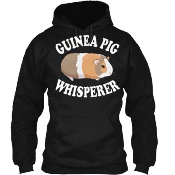 Guinea Pig Whisperer Shirt: Love Guinea Pigs | PA255 Pullover Hoodie 8 oz