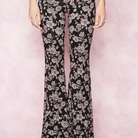 Floral Print Pants | Forever 21 - 2000186485
