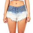 Double Dip Cutoff Shorts