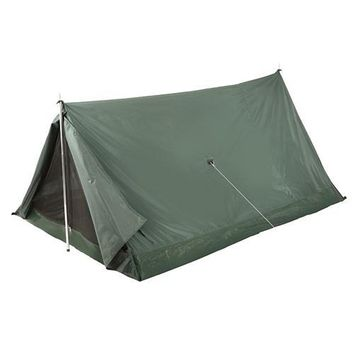 Stansport Scout 2 Person Nylon Tent - Forest Green And Tan