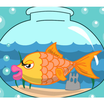 Fish bowl Wall Art  | Artist : Anuj Goyal