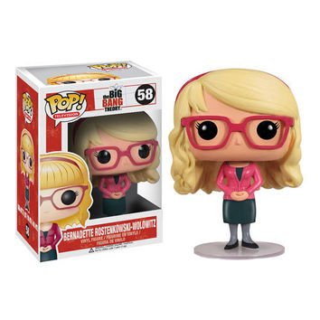 Funko POP! Television - Vinyl Figure - The Big Bang Theory - BERNADETTE (4 inch) (Pre-Order Sept.): BBToyStore.com - Toys, Plush, Trading Cards, Action Figures & Games online retail store shop sale