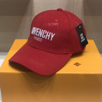 Givenchy Embroidered Baseball Cap Hat