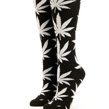 HUF Plantlife Knee High Socks