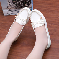 Butterfly Tods Sweets Flat Round-toe Korean Shoes [9257016460]