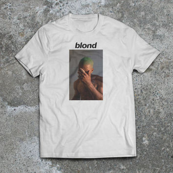 Frank Ocean Blond Album Cover Premium T-Shirt