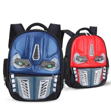 Transformers School Bag Children 4-8Years Kids Backpack Mochila Waterproof Cartoon Boys Children School Bags Children Backpacks