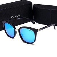 Prada Women Fashion Summer Sun Shades Eyeglasses Glasses Sunglasses