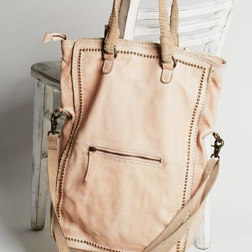 Free People Faye Distressed Tote