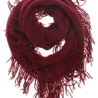 With Love From CA Fringe Infinity Scarf at PacSun.com