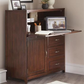 718-CC Hampton Bay Home Office-Cherry