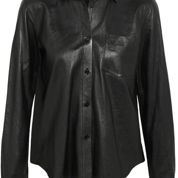 Helmut Lang - Leather shirt