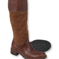 Women's Deerfield Boots, Tall Suede/Leather: Boots | Free Shipping at L.L.Bean