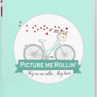 Picture me Rollin' Bike Illustration. They see me Rollin, They be Lovin' by DesireeNguyen