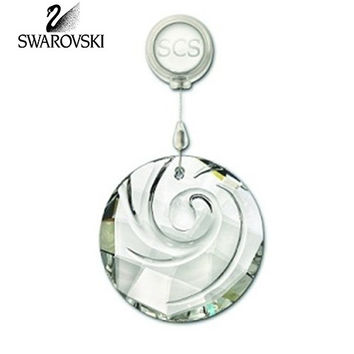 SWAROVSKI Clear Crystal 2009 SCS Window AIR ORNAMENT Suncatcher #1005276