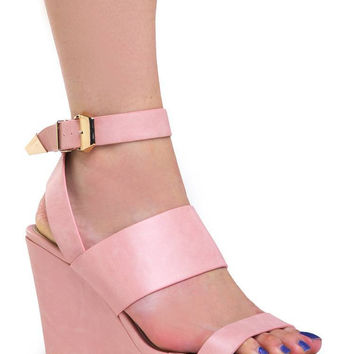 ANKLE STRAP WEDGE