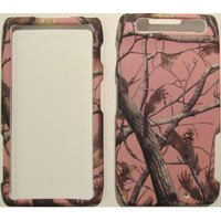 MOTOROLA DROID RAZR TREE OAK CAMO PINK PINE TREE CAMOUFLAGE HUNTER HARD PROTECTOR SNAP ON COVER CASE